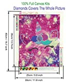 DIY 5D Diamond Painting by Number Kit for