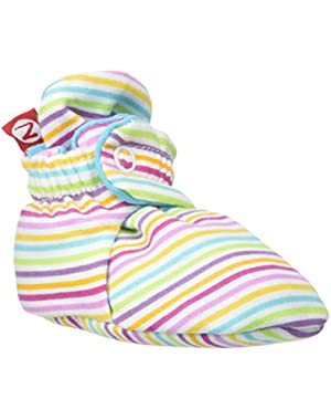 Rainbow Candy Stripe Bootie (Baby)