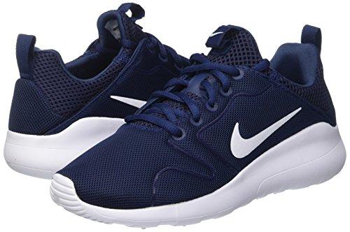 Nike Mens Kaishi 2.0 Blu Notte / Bianco Scarpe Da Corsa - 6 B (m) Noi