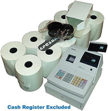 Eposbits - Caja registradora para caja registradora Sam4s ER-290 ...
