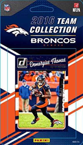 Denver Broncos 2016 Donruss Factory Sealed Team Set with John Elway, Von Miller, Paxton Lynch Rookie card plus others -