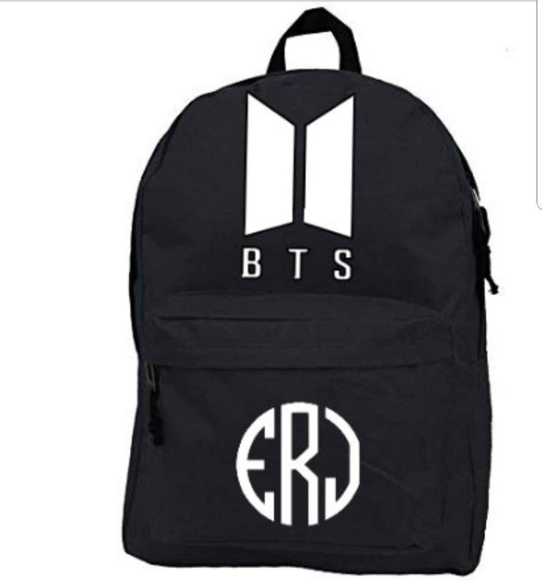 Fashion Kpop BTS Backpack School Travel Bag