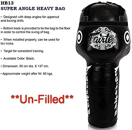 Amazon com : Bangplee_Sport Fairtex HB13 Super Angle Heavy Bag