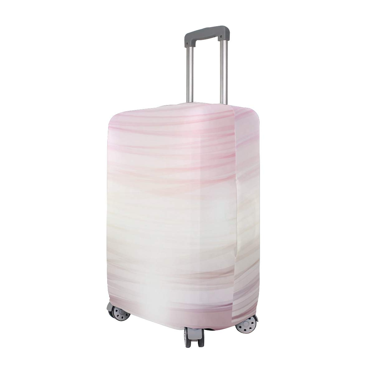 Pink Duffle Bag Traveler Lightweight Rotating Luggage Protector Case Can Carry With You Can Expand Travel Bag Trolley Rolling Luggage Protector Case