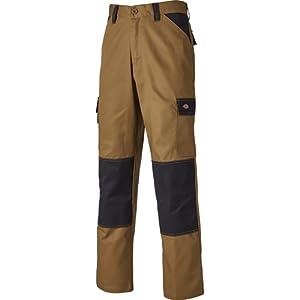 Dickies - ED24/7R KHB 34 - Pantalon de travail - Beige (Khaki/Noir) - FR : 46 ( DE : 50 / UK : 36 )