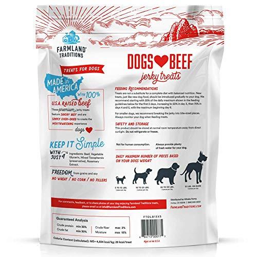 51Kseeje3uL. SS500  - Filler Free Premium Jerky Treats for Dogs