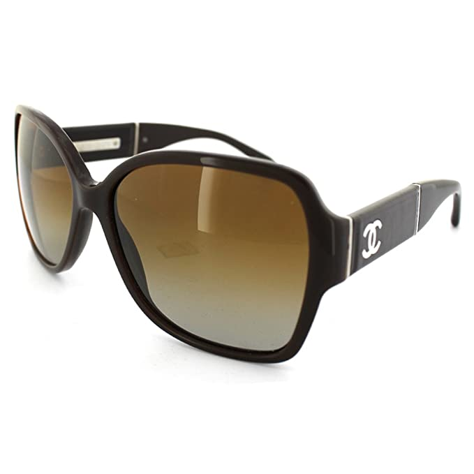 Gafas de Sol Chanel CH5230Q BLACK/GRAY GRADIENT: Amazon.es ...