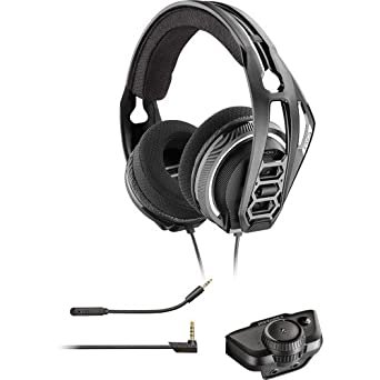 Amazon com: Plantronics Gaming Headset, RIG 400LX Gaming