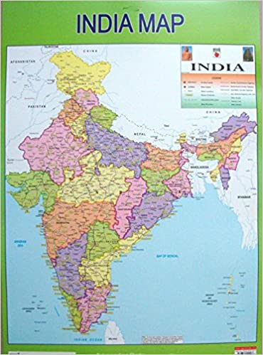 Buy india map plastic wall chart washable tear resistant book buy india map plastic wall chart washable tear resistant book online at low prices in india india map plastic wall chart washable tear resistant gumiabroncs Image collections