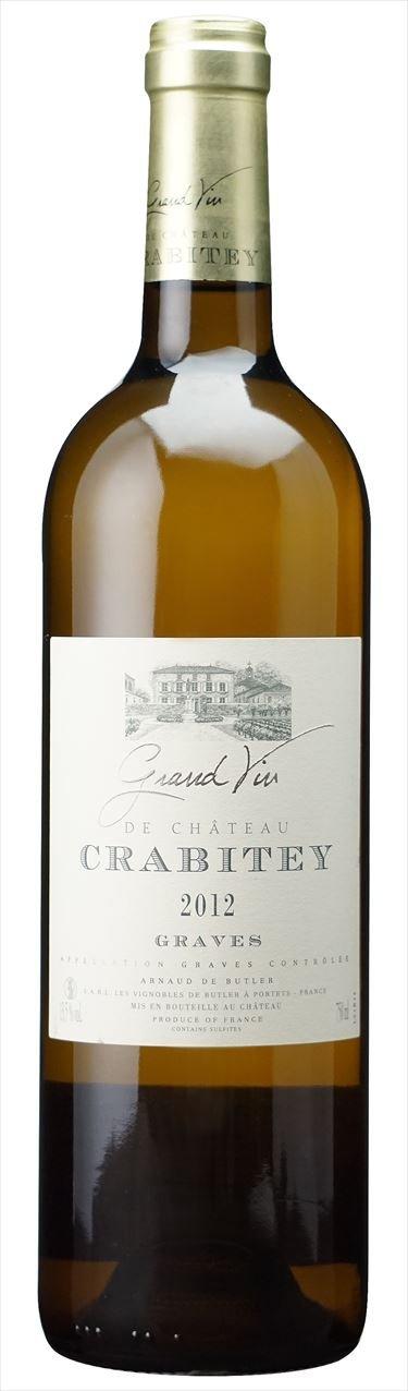 【グラーヴ】2012 Chateau Crabitey Blanc 6本ケース販売(IFB681-6) B01DSS00K0
