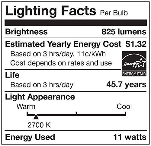 Cree Lighting TRDL6-0802700FH50-12DE26-1-11 6 inch LED Retrofit Downlight 75W Equivalent (Dimmable) 825, lumens, Soft White 2700K