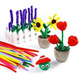 Caydo 324 Pieces Pipe Cleaners 27 Colors Chenille