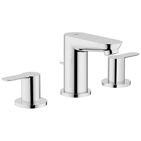 Grohe 20 374 CLOSEOUT - Widespread Bathroom Faucet with SilkMove ...