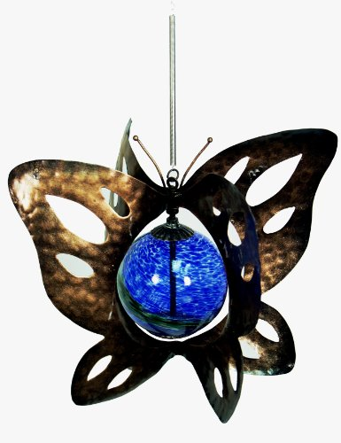 Echo Valley 4248W Illuminarie Hanging Butterfly Spinner ()