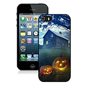 Customization Iphone 5S Protective Cover Case Halloween iPhone 5 5S TPU Case 6 Black