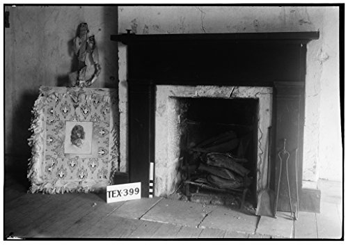8 x 12 Photo 4. Historic American Buildings Survey, Arthur W. Stewart, Photographer November 27, 1936 Southwest Elevation Second Floor Fireplace. - Judge Sebron G. Sneed House, After 1933 31a by Vintography
