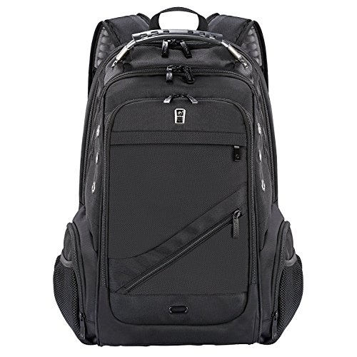 Sosoon Laptop Backpack, Business Anti-Theft Travel Backpack with USB Charging Port, Water Resistant Large Compartment College School Computer Bag for Men and Women for 15.6 inch Laptop and Notebook by Sosoon (Image #8)