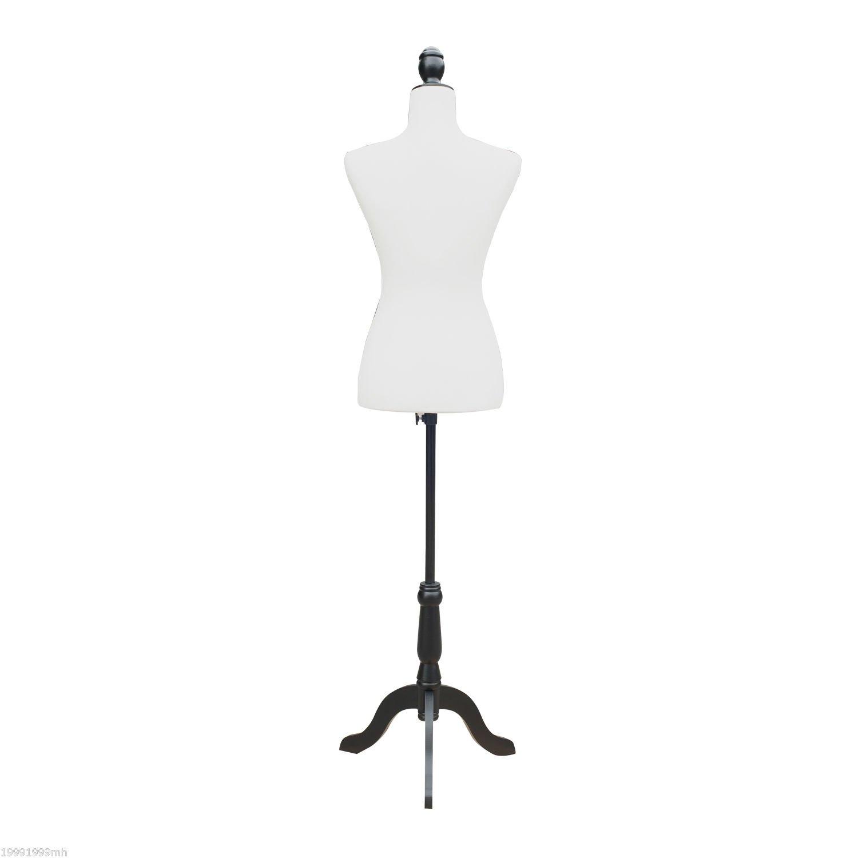 Godyluck Female Mannequin Dress Form Torso Dressmaker Stand Display