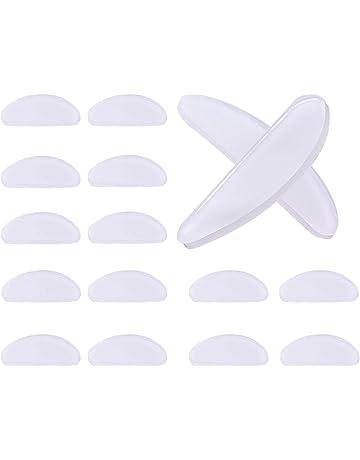 3c815cb0c5ff0a 10 Paires Coussinets de Nez Adhésif Plaquettes de Nez en Silicone  Antidérapant pour Lunettes Lunettes de
