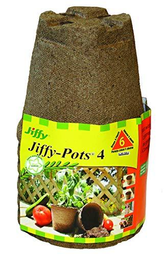 Jiffy 4 in. Round Jiffy Pots