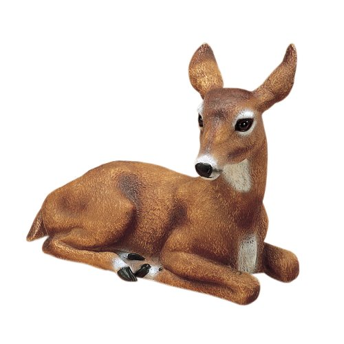 Sculptural Gardens by Heritage Farms Small Doe Statuary
