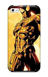 Durable Protector Case Cover With Marvel Hot Design For Iphone 5c