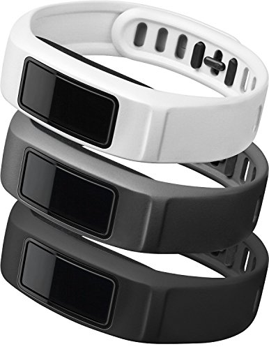 Garmin vívofit 2 Wrist Bands (Small) (Black/Slate/White)