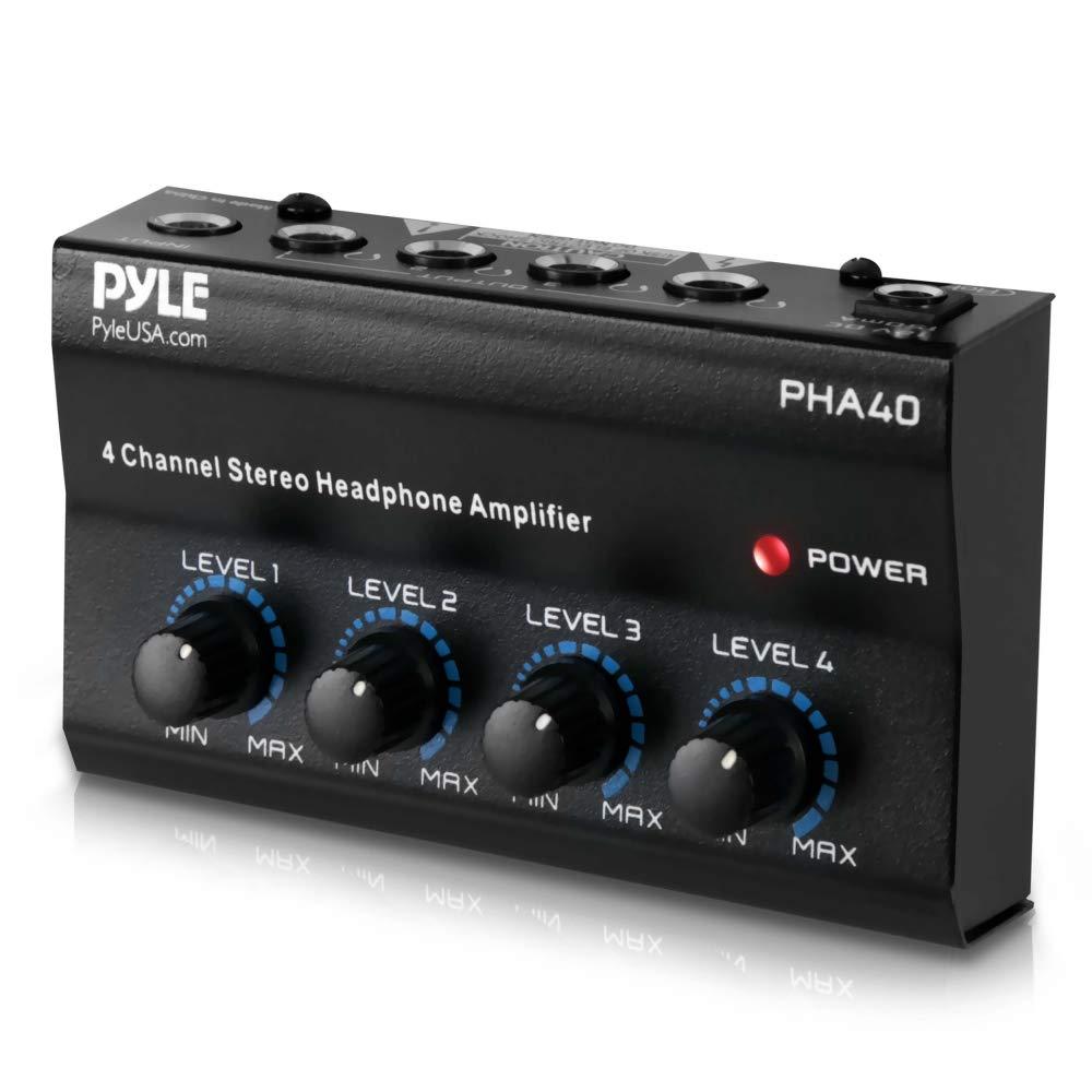 Pyle-Pro PHA40 Amplificateur Casque