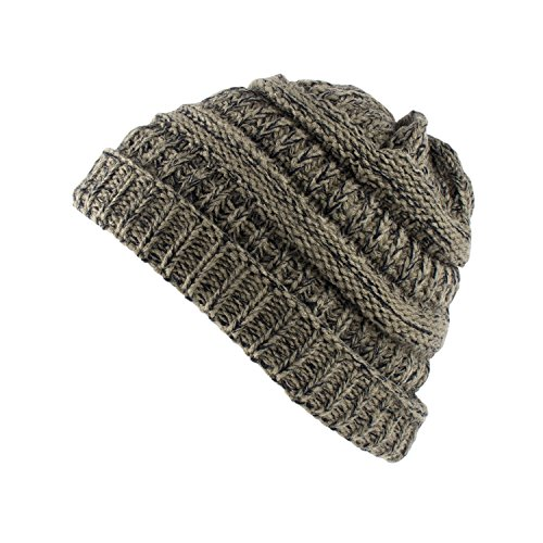 Super Z Outlet Knit Sew Outdoor Low Slouch Thermal Ski Beanie headgear For Snowboard, Cycling, Sports, Cold Weather Protection by - Ski Outlet Company