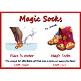 """Rubber Duck """"Magic Socks - Expands in Water!"""