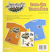 Iron-On Transfers (Vacation Bible School (VBS) 2014: Jungle Safari—Where Kids Explore the Nature of)
