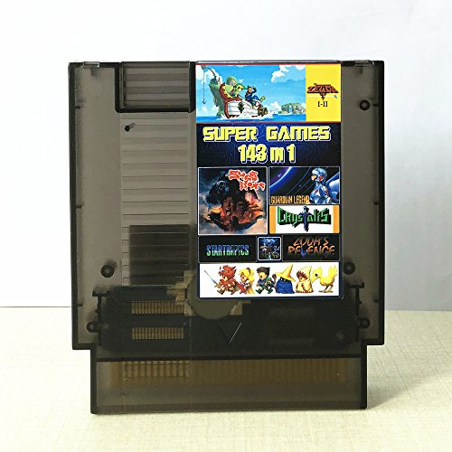 ames Multi Cart 72 Pin Limited Edition TRANSPARENT BLACK (Bubble Bobble Nintendo Game)