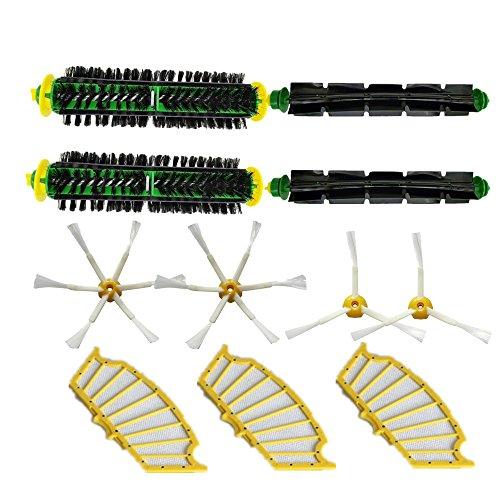 LOVE(TM)Bristle & Flexible Beater Brush Armed Filter kit for Robot 500 Series Vacuum Cleaner 510 520 530 540 550 560 570 610 by LOVE(TM)