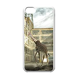 linJUN FENGProtection Cover Hard Case Of Giraffe Cell phone Case For iphone 6 4.7 inch