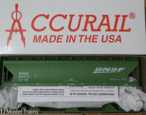 Acf Covered Hopper - HO RTR ACF 3-Bay Covered Hopper, BNSF