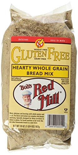 Bob's Red Mill Gluten Free Whole Grain Bread Mix, 20 oz (Bread Gluten Whole Grain Free)