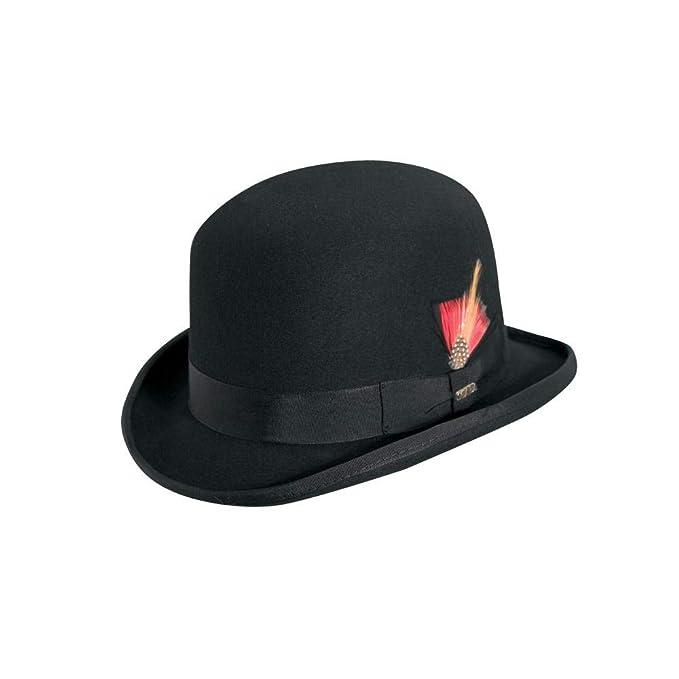 5e26fa4e60a570 Scala Men's Wool Felt Derby Hat: Amazon.ca: Clothing & Accessories