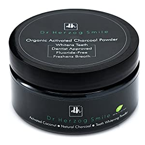 ★ The Dr Herzog Smile Teeth Whitening Powder is the most popular choice for fast and effective results. Discover the power of activated coconut charcoal powder for whiter and more beautiful smile ★ No More Expensive Whitening Treatments We rea...