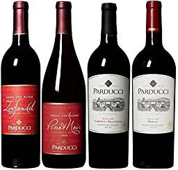 Parducci Mendocino Collection Wine Mixed Pack, 4 x 750 mL