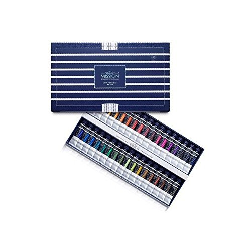 Mijello Water color MISSION White Class Watercolors 34pcs x 15ml