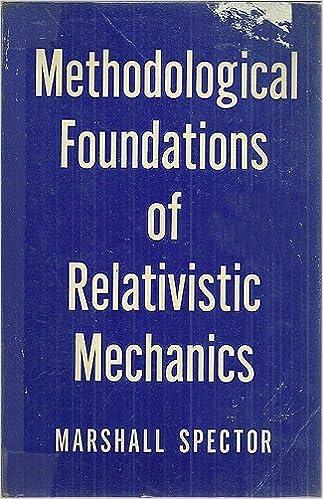 Book Methodological Foundations of Relativistic Mechanics by Spector Marshall (1973-06-28)