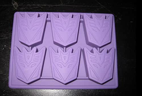 TRANSFORMERS DECEPTICON SILICONE BIRTHDAY CANDY CHOCOLATE MOLD PARTY SUPPLY ICE TRAY
