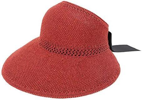 SUNNYTYM Sombrero para El Sol Sombrero De Paja del Verano De Las Mujeres Que Monta El Sombrero De La Tendencia De La Moda del Partido del Montar A Caballo con Párrafo