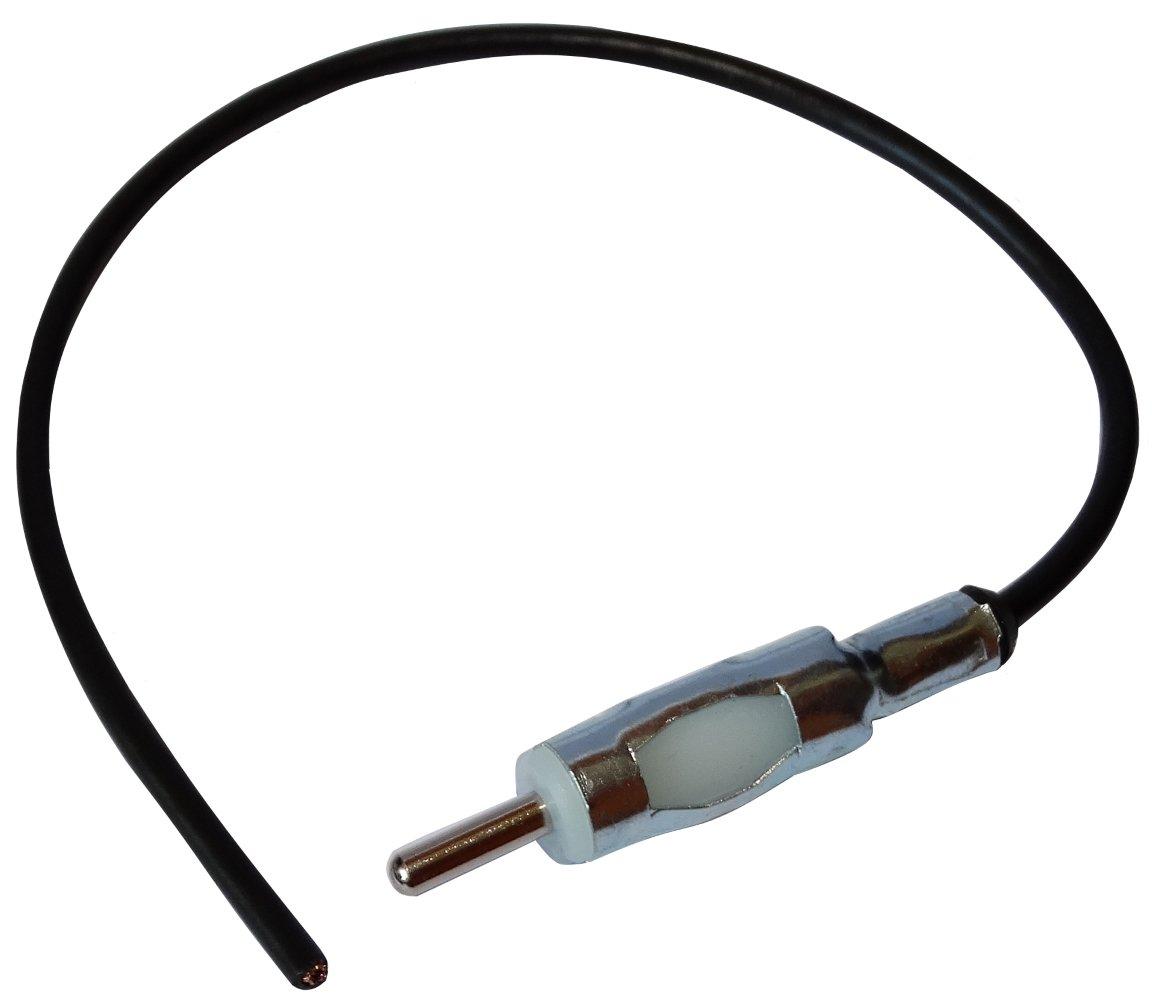 AERZETIX Connecteur Adaptateur fiche Prise antenne autoradio DIN M/âle Pr/éc/âbl/é 26cm pour Auto Voiture