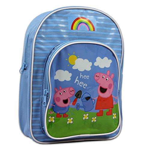 Peppa Pig & George Pig Backpack]()