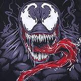 Triv Men's Compression Workout Venom Short Sleeve T