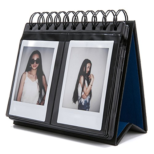 Fujifilm Instax Mini Photo Album  Woodmin Desk Calendar Mini Album For Fuji Instant Mini 70 7S 8 25 50S 90  Polaroid Z2300  Polaroid Pic 300P Film Black