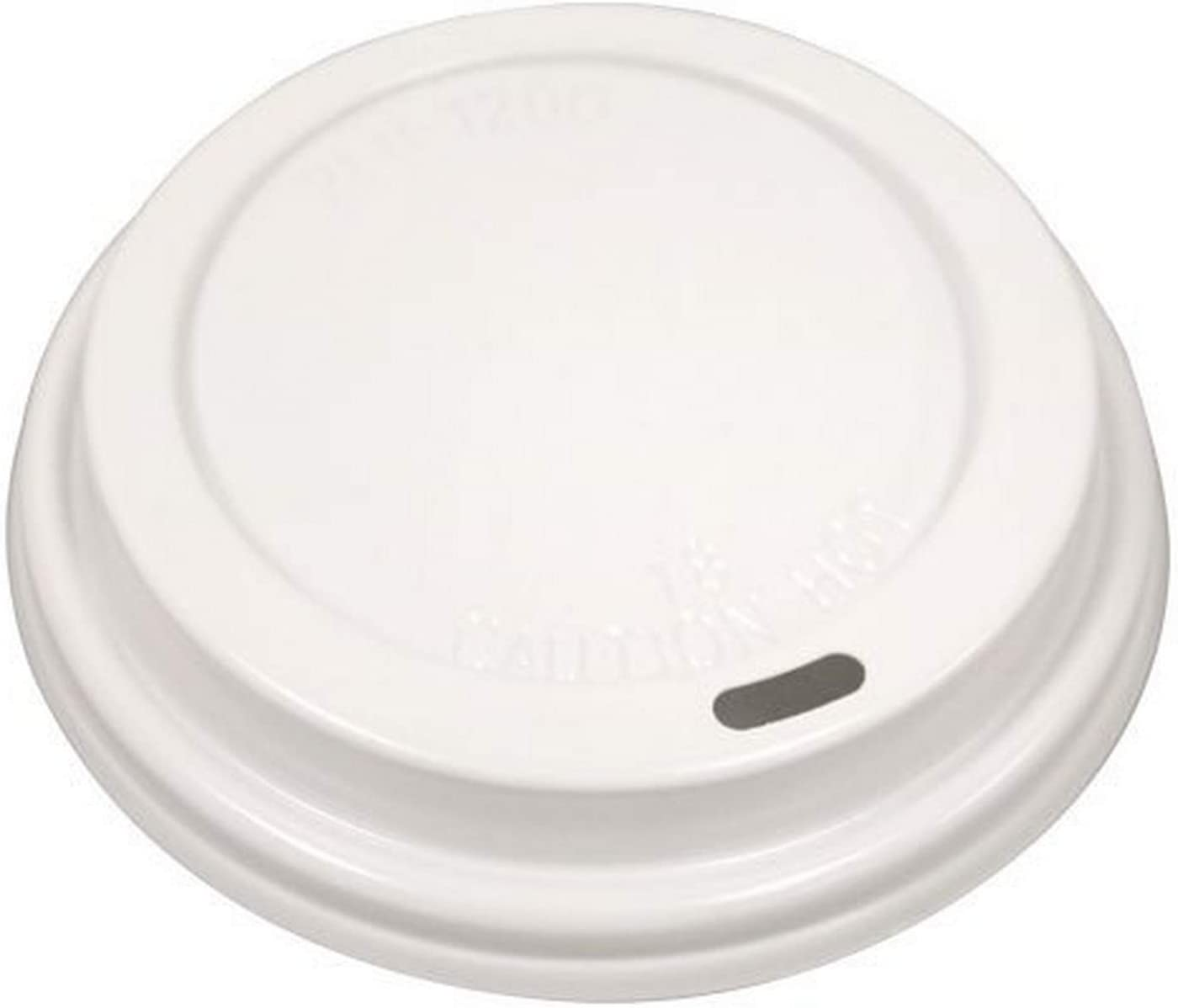 Nicole Home Collection Coffee 12 & 16 oz. Hot/Cold Cups | White | Pack of 20 Dome Lid