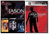 Jason Slasher Collection 4-Movie Set - Jason Goes To Hell/ Jason X/ Freddy vs Jason & A Nightmare on Elm Street