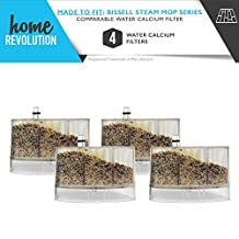 4 Bissell Calcium Water Filter Replacement Home Revolution Brand; Compare to Bissell Part # 2185600